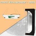Packs Éclairages horticoles LED + Box de culture